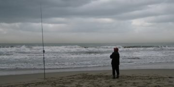 fishing bad weather
