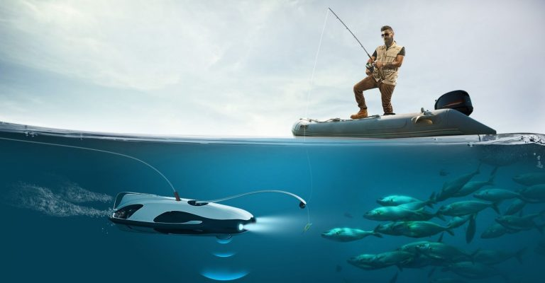 underwater fish cameras drones submarines